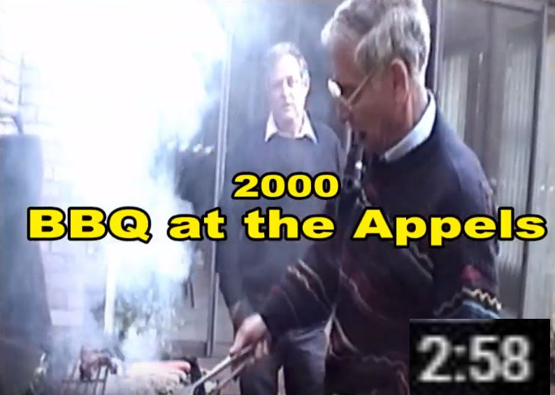 BBQ at the Appels - 2000