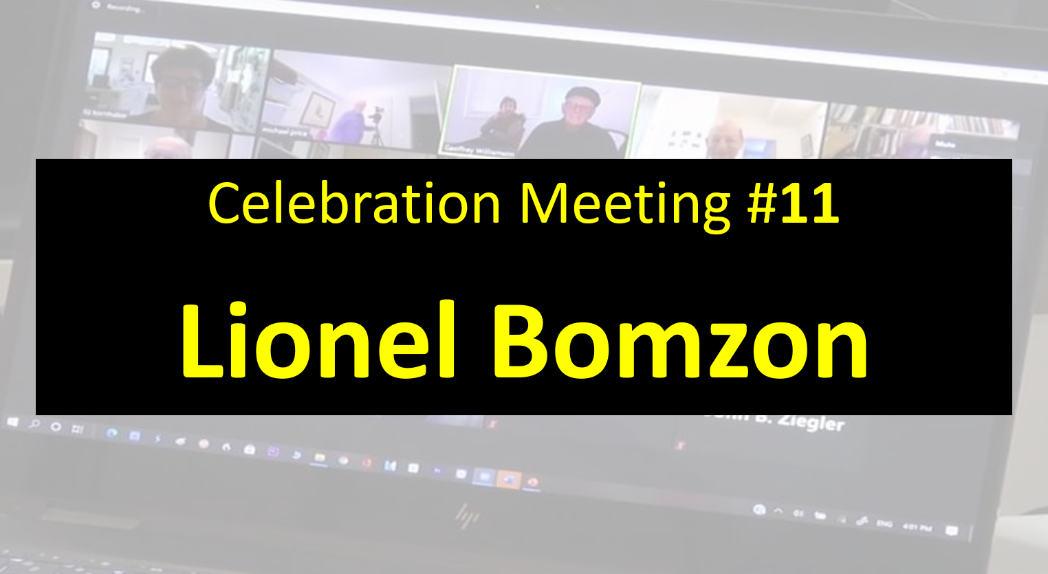 Celebration Meeting - #11 - Lionel Bomzon